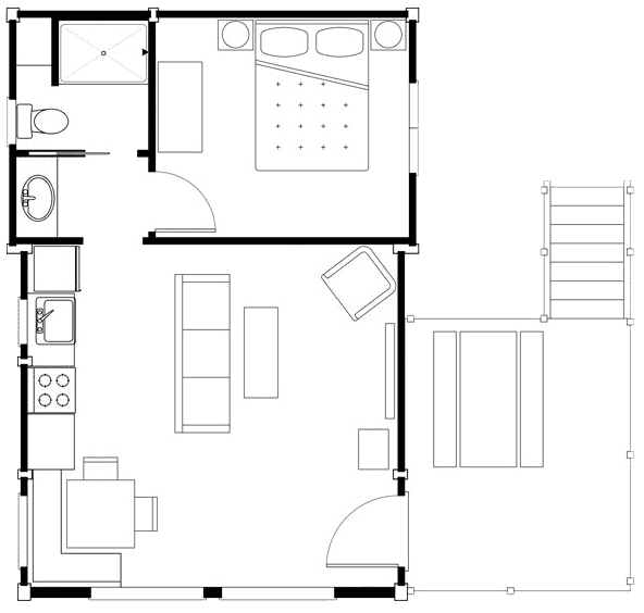 Waterview and Water Front floor plan