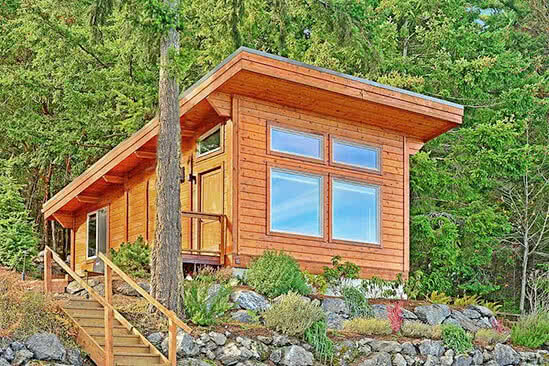 One Bedroom Waterview Cabin