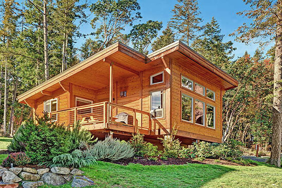 Two Bedroom Water View Cabin