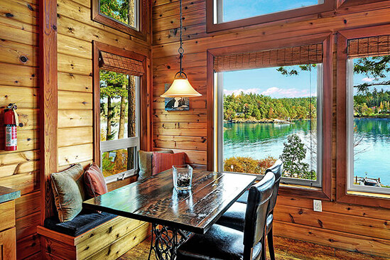 Two Bedroom Water View Cabin Nook View