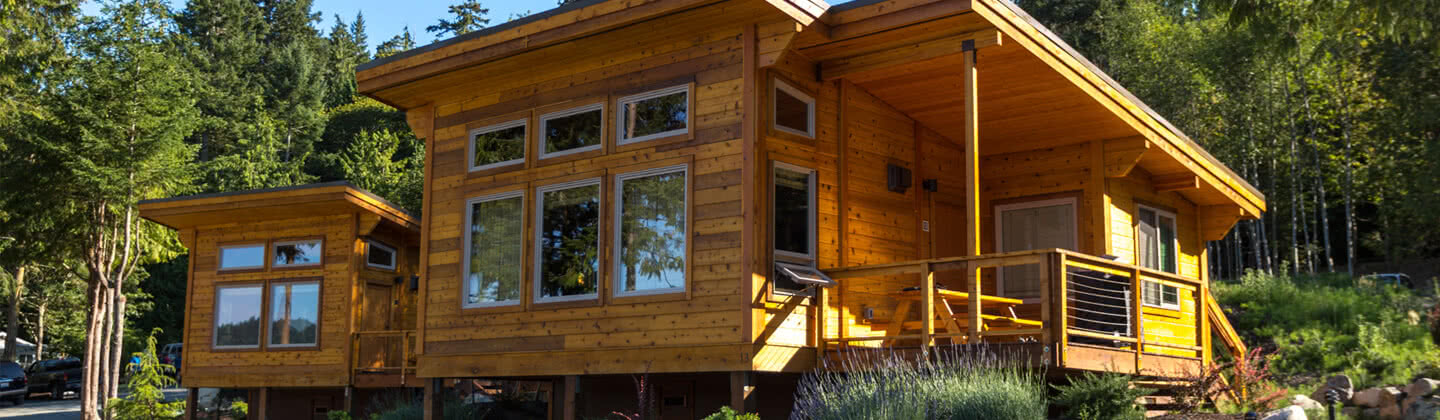 Two Bedroom Cabin at Snug Harbor Resort